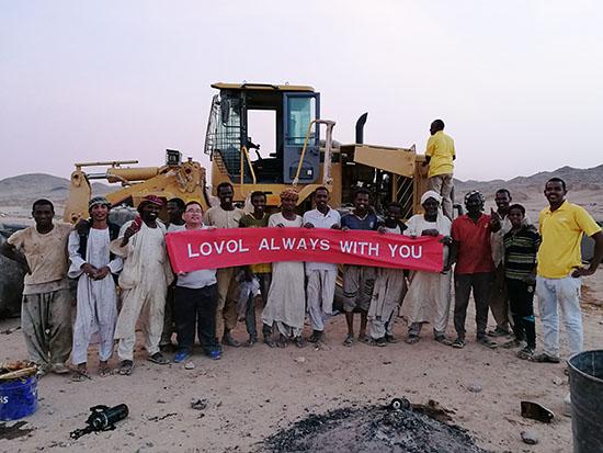 雷沃工程机械再获苏丹60台装载机订单