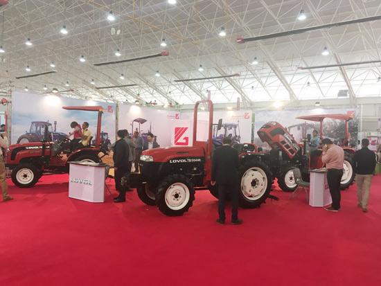 雷沃重工参展伊朗国际农机展