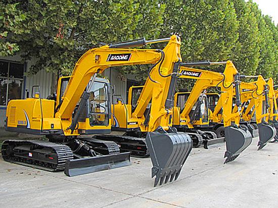 省油高效 宝鼎80型号履带式小型挖掘机