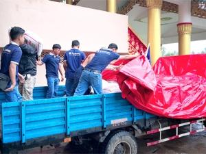 缅甸洪灾强势来袭 柳工积极投入救援