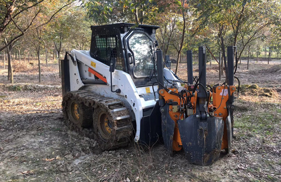 官宣!当园林施工遇上山猫滑移,便是天作之合!