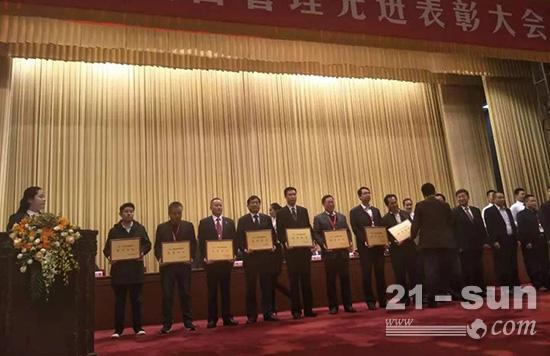 中国重汽卡车公司又双叒叕获奖了