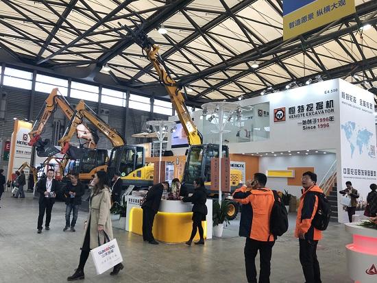 2018上海宝马展,恒特HT85W-Z抓装机新品发布!