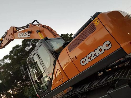凯斯CX210C挖掘机:智勇兼备,无往不利