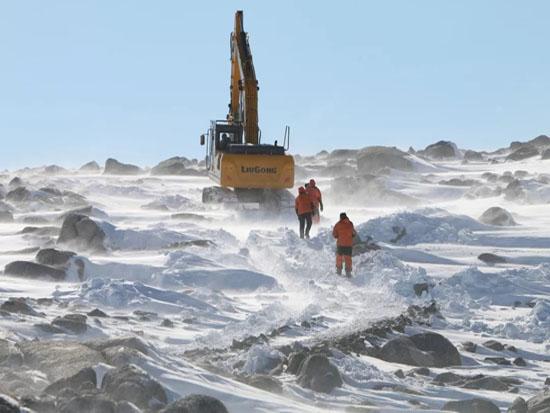 柳工机械在中国第五个南极科考站建设纪实