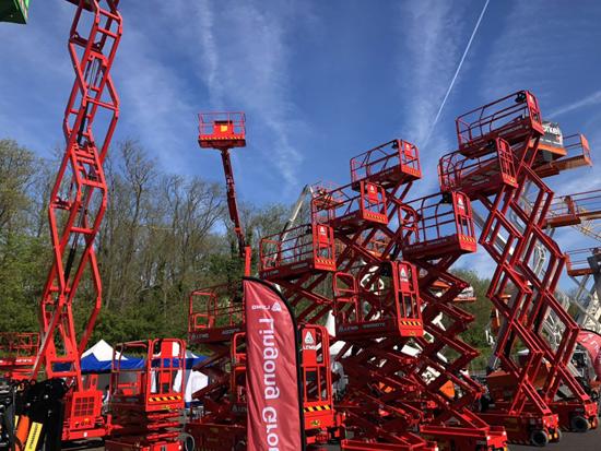 临工重机携升级款高机系列亮相2019英国Vertikal Days展会