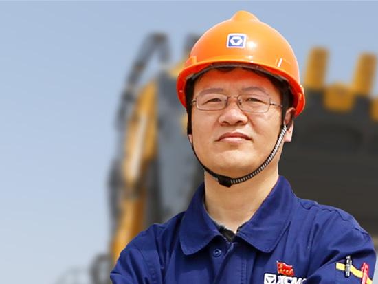 他为徐工赢得千吨级挖掘机市场的话语权