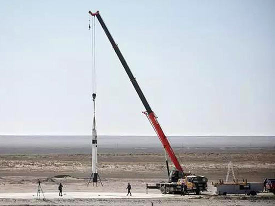"""能吊""""火箭""""的神机:三一STC160C起重机"""