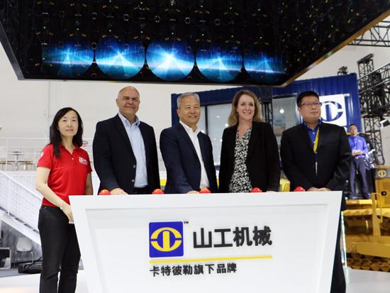 山工机械新品发布仪式于2019 BICES展会隆重举行