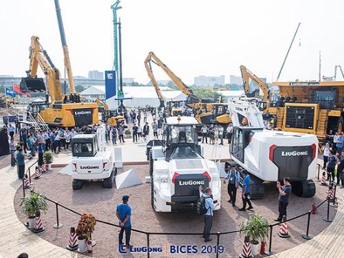 BICES2019工程机械展在京举行 显示行业需求持续旺盛