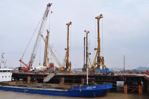 全球最大吨位旋挖钻机发车!助力粤港澳大湾区建设