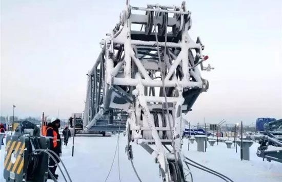 致敬中俄世纪工程,三一装备北极圈创-48℃极寒施工纪录