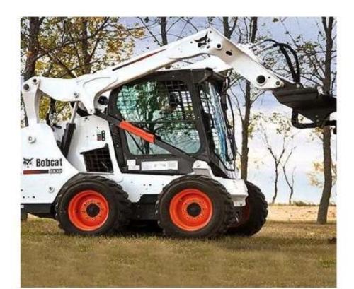 山猫清扫机系列的除雪机可以这样操作