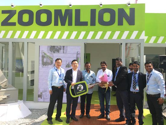 中联重科闪耀印度EXCON展 本地化高端装备凸显市场竞争力