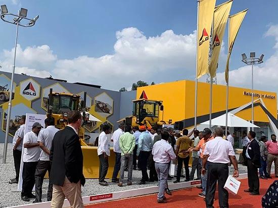 近70台订单!山东临工印度EXCON 2019展会刷新销量纪录