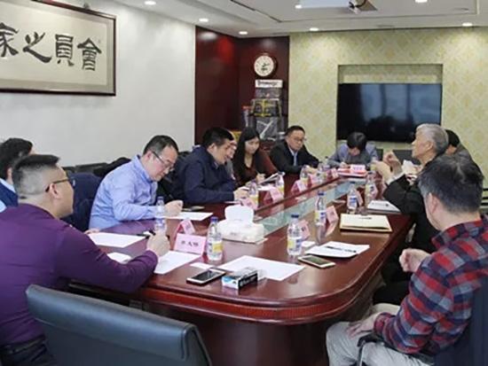 山東臨工總裁于孟生一行到訪中國工程機械工業協會