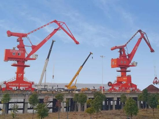 泰富沙洋成功打开长江内河港口码头装卸市场