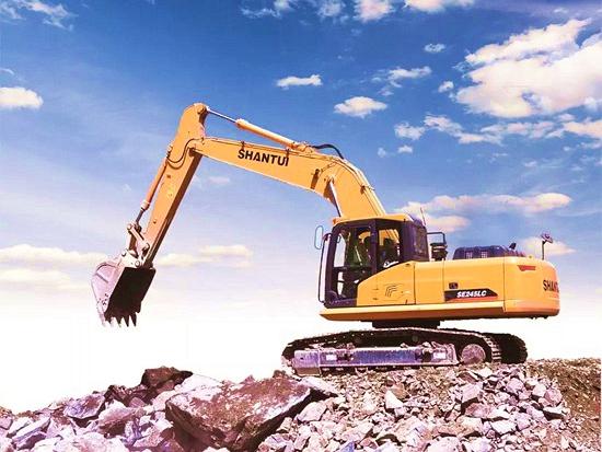 山推挖掘機SE245LC-9  小型礦山作業的得力助手