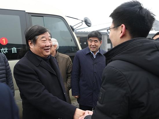 譚旭光到菏澤鄄城調研考察