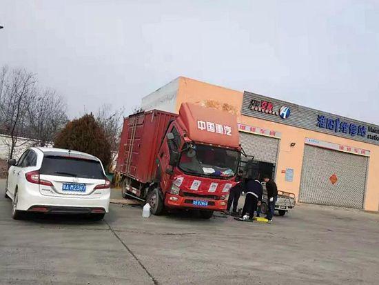 中国重汽确保救援物资准时运抵武汉
