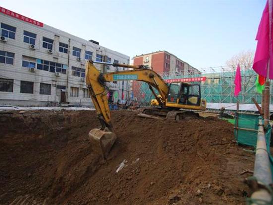 北京各大重点工程有序复工 即将掀起春季施工生产高潮