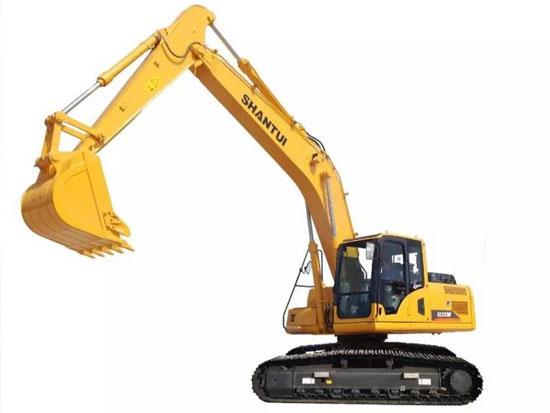 山推SE220W挖掘机,高效,环保,省油!