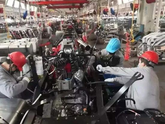 """防疫生产""""一条龙"""" 长沙工程机械产业链上中下游企业逐步复工复产"""