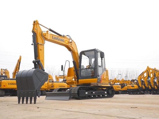 柳工9075E 挖掘机