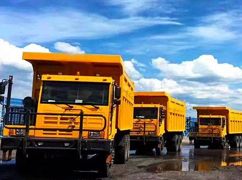 1000辆搭载亚洲城入口动力的矿车交付