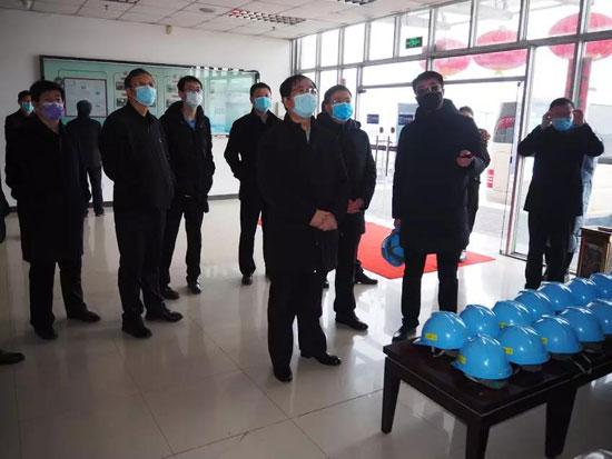 一手抓防控,一手抓生产,小松(中国)矿山朔州分公司复工