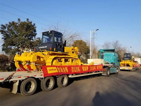 中联重科土方机械复工后 首批产品发往东南亚市场