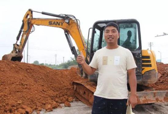 一年多就回本,这台55挖机为啥客户会买了又买?