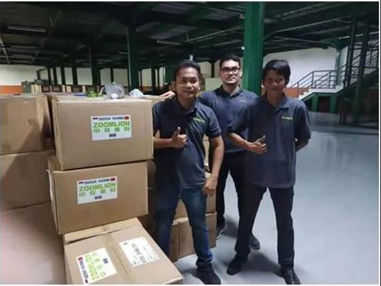 中联重科印尼员工:我爱我的中国朋友