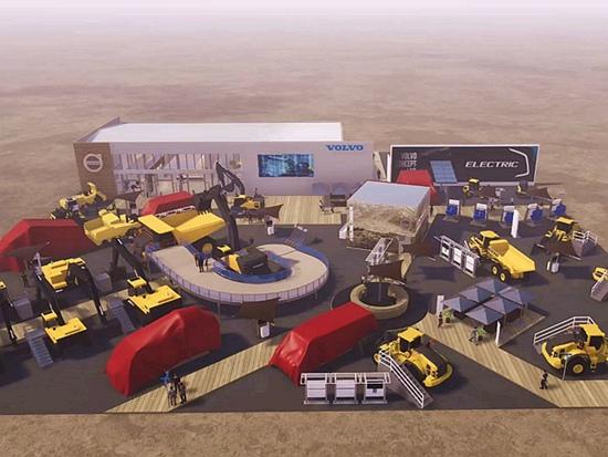 沃尔沃建筑设备携重磅产品与服务亮相2020拉斯维加斯国际工程机械展
