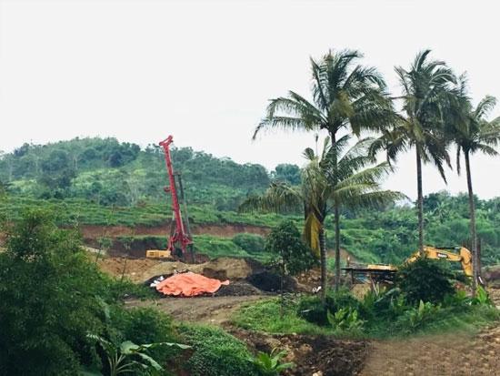 三一重工第31台旋挖钻交付!助力印尼雅万高铁建设
