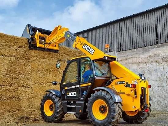 JCB 发布第III代农业伸缩臂叉装车新品