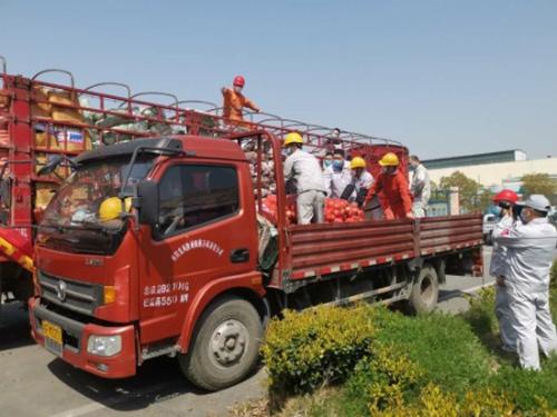 玉柴捐赠150吨果蔬助力湖北汽车企业复工复产