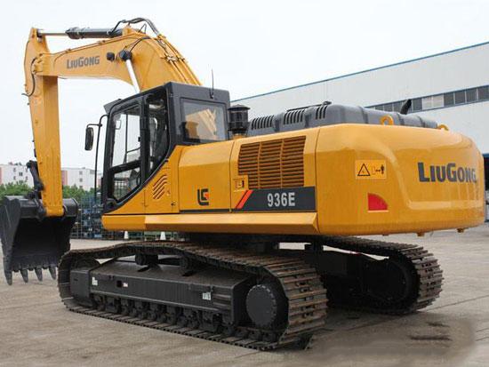 矿山悍将柳工936E挖掘机与您一起见证品牌的力量
