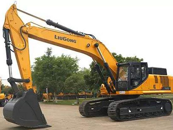 柳工948E挖掘机:有型更有力!