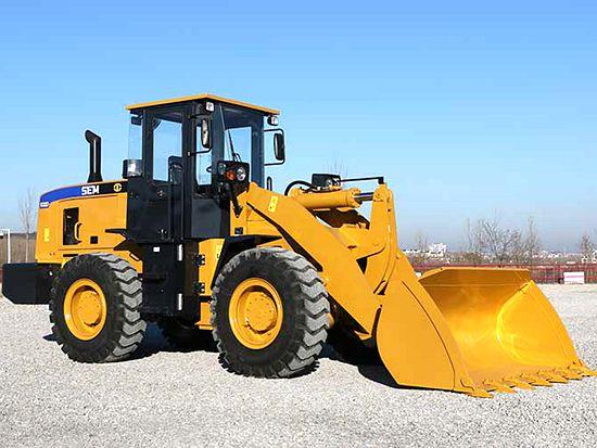 山工SEM632D轮式装载机特点详解