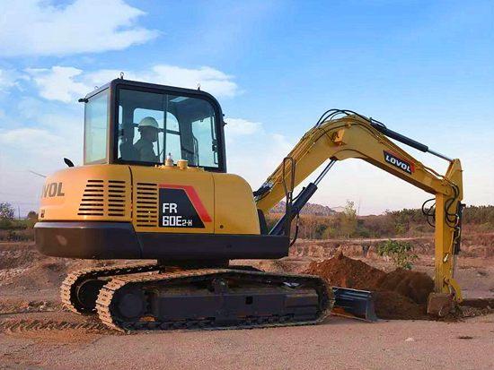 全新雷沃FR60E2-H挖掘机 智能高效 超长质保