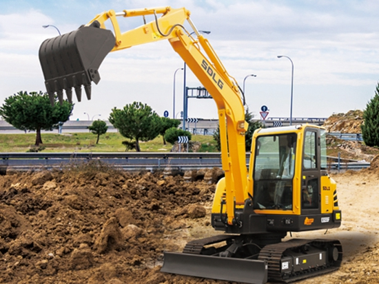 山东临工E655F挖掘机:5吨的价格,6吨的配置,性价比高