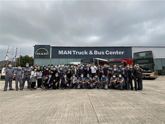 曼恩商用车香港正式投入运营