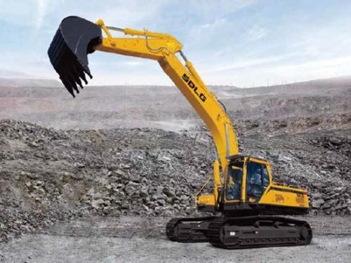 第一台山东临工E6400F挖掘机成功登陆老挝,有何过挖机之处!