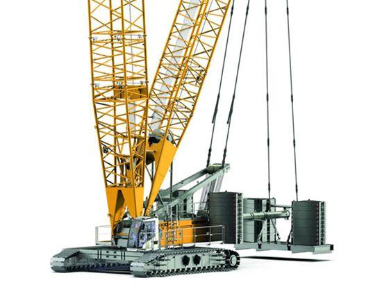 更高的安全性,更容易操作:最新一代利勃海尔LR1300 SX履带起重机