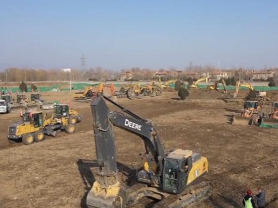 迪尔助力北京小汤山扩建工程