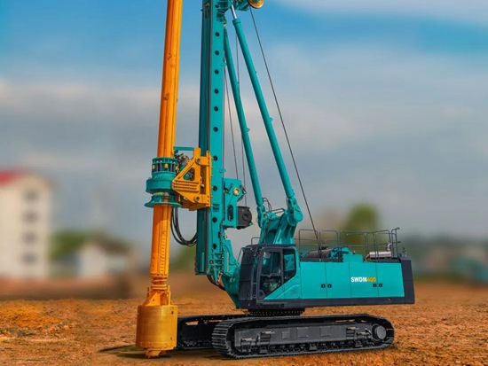 入岩家族添新丁,SWDM400旋挖钻机批量上市