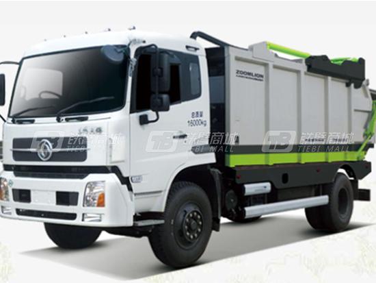 中联重科无泄漏压缩垃圾车,环卫领域的创新变革