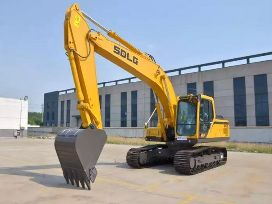 性价比超高!山东临工E6210F中型挖掘机绝对实力派!