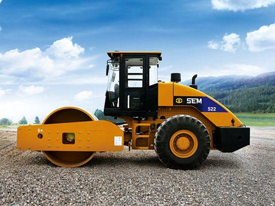 """山工SEM522压路机 强悍低调的压实""""神器"""""""